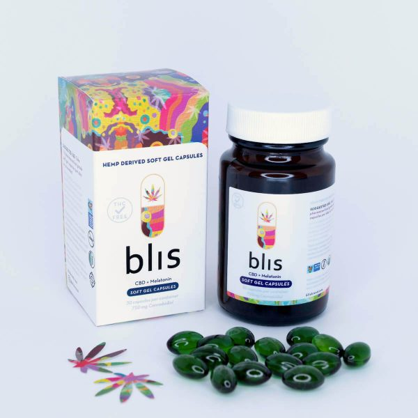 cbd soft-gel capsules melatonin