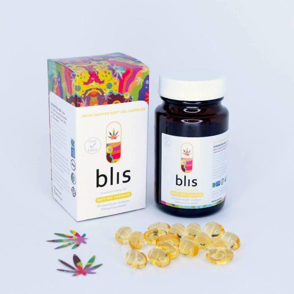 cbd soft-gel capsules premium hemp oil 300mg
