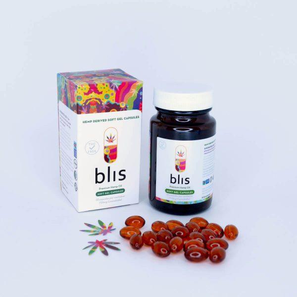 cbd soft-gel capsules premium hemp oil 750mg