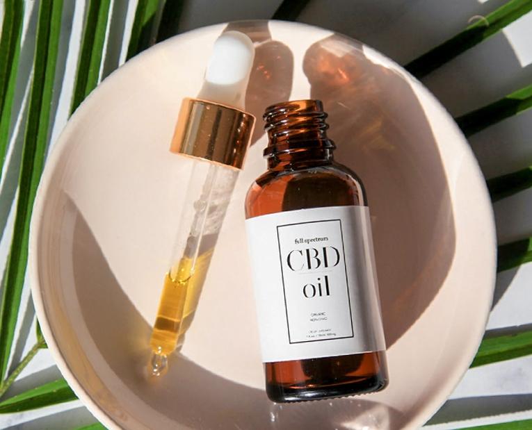 CBD Oil Drops Natural Flavor